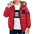 Hot Sale Boys Jacket Outwear Cotton Kids Children Teenage Coat High Quality Child Fashion Zipper Hooded Clothes 4 Color