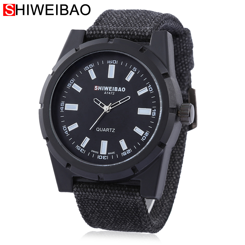 Reloj Hombre 2017 Quartz Watch Men Fabric Bracelet Watchs Causal Creative Watches Men Military Relogio Masculino Brand Shiweibao