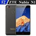 "Original zte nubia n1 nx541j 5.5 ""MTK6755M FHD Android 5.14G LTE TD teléfono inteligente 3 GB RAM 64 GB ROM 13MP dual sim OTG de huellas dactilares"