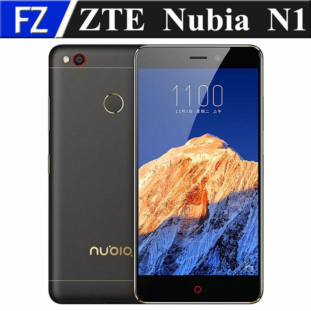 """bilder für Ursprüngliche ZTE Nubia N1 NX541J 5,5 """"FHD MTK6755M Android 5.14G TD LTE smartphone 3 GB RAM 64 GB ROM 13MP dual sim OTG fingerabdruck"""