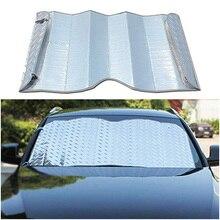 Автомобильные Навесы спереди файл утолщение лазерный зонтик солнцезащитный, изоляционный экран солнцезащитный щиток для автомобиля внедорожник внедорожных солнцезащитный крем TS004