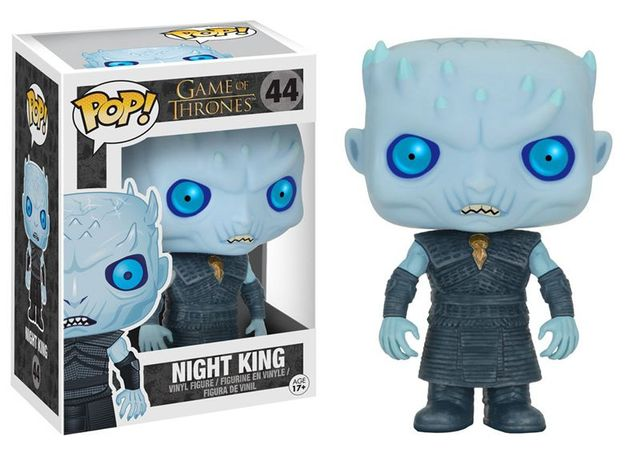 Game Of Thrones Night King Vinyl Figure Collectible Model Toy with Original Box