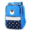 2016 Kids Backpack Bag Primary School Girls Boys Children Backpack School Bags Cartoon Animal Dog  Bag for 7-10 Years