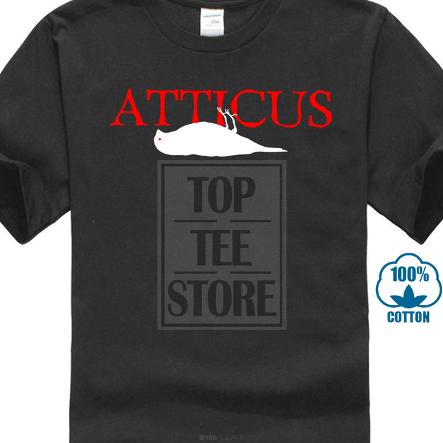 dffa8fda869625 Atticus Alternative Rock Band Logo Gildan Men'S Black T Shirt Size M 5Xl