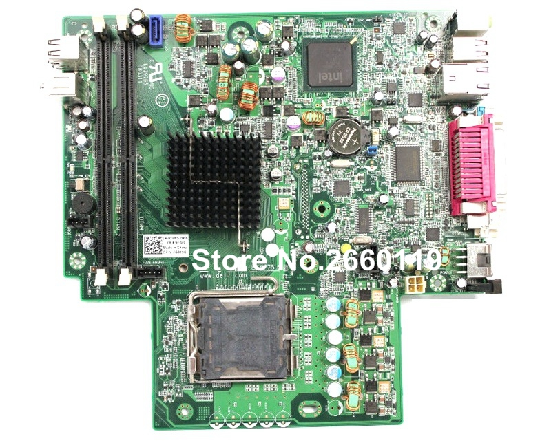 ФОТО 100% Working Desktop Motherboard For Dell Optiplex 760 G919G System Board fully tested
