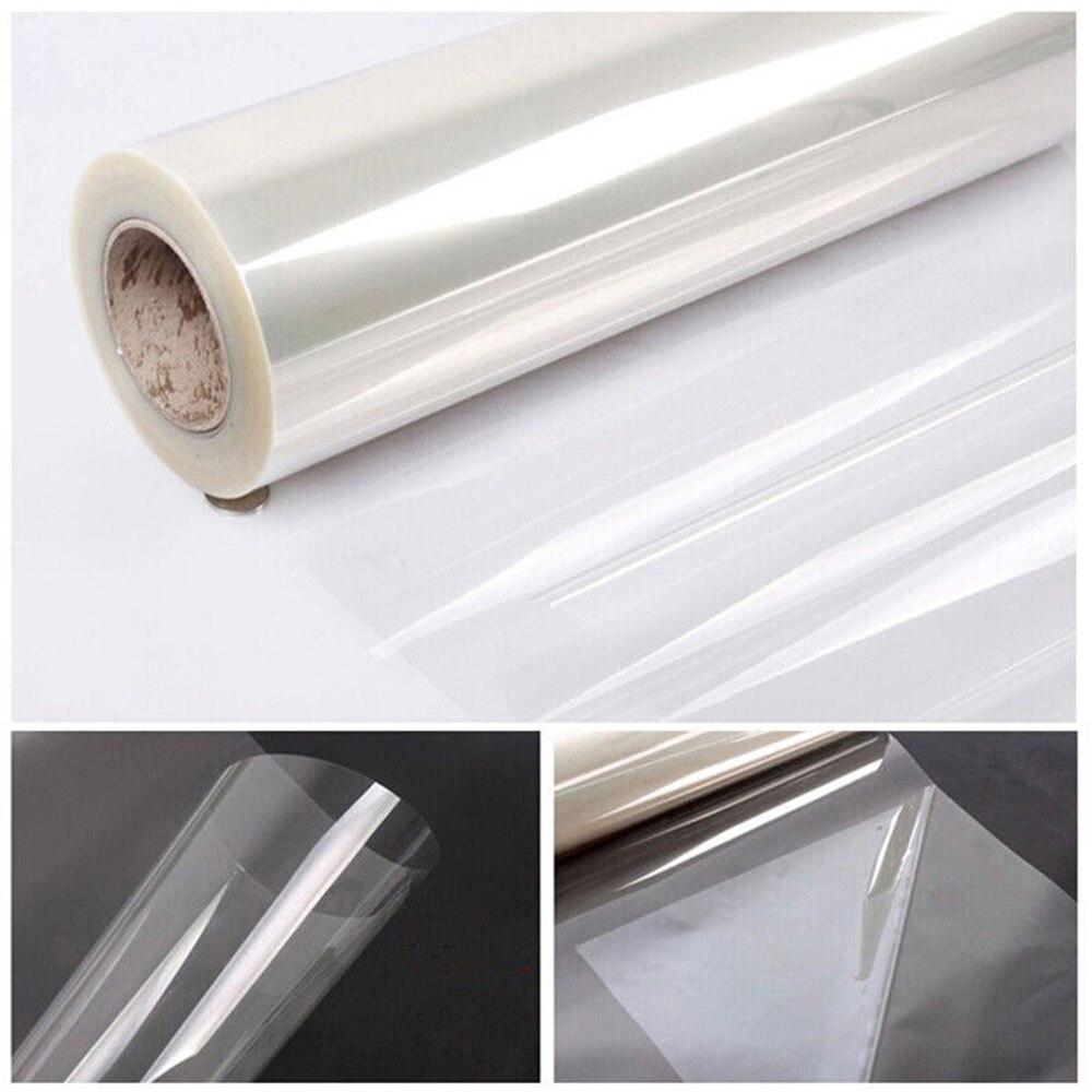 60 x33ft (1.52x10 m) 2mil Clair Incassable Film De Fenêtre de Sécurité-Verre UV Protection Vinyle Film