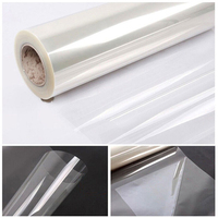 60 X33ft 1 52x10m 2mil Clear Shatterproof Safety Window Film Glass UV Protection Vinyl Film