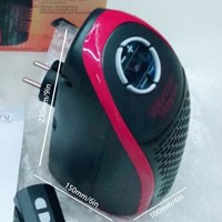 220V EU Plug Wonder Electric Heater Fast Fan Heater Winter Warmer Handy Portable Mini Wall Heater For Home Room Office Electric Heaters