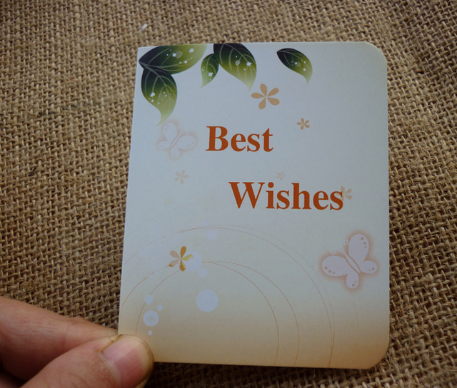 warm wishes discount card blessing cards greeting cards fantasy flowers and warm small wholesale - Discount Greeting Cards