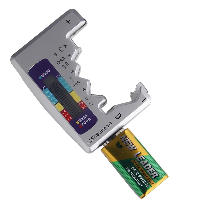 Digitális akkumulátor tesztelő univerzális akkumulátor - Mérőműszerek - Fénykép 5