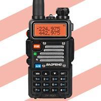 Baofeng UV 5R X3 Walkie Talkie Tri Band 136 174/200 260/400 520 VFO Two way Radio + 2x Antenna