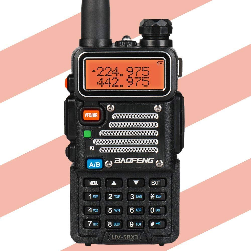 Baofeng UV-5R X3 Talkie Walkie Tri-Bande 136-174/200-260/400-520 VFO Deux way Radio + 2x Antenne