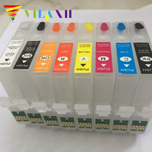 T3240 T3241 T3242 T3243 T3244 T3247 T3248 T3249 For Epson P400 Printer Refillable Ink Cartridge Surecolor p400