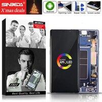 AMOLED для samsung Note 8 N950F N950FD N950U ЖК дисплей сенсорный экран с рамкой для samsung Note 9 N960 N960F N960D ЖК экран