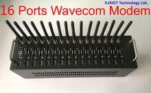 Promotional gprs modem 16 ports 2016 cheapest Wavecom wavecom q2303 modem pool with  gsm module Sms massa