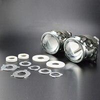 2x 3 Inches Q5 Koito HID Bi Xenon Projector Lens For H1 H4 H7 H11 HID