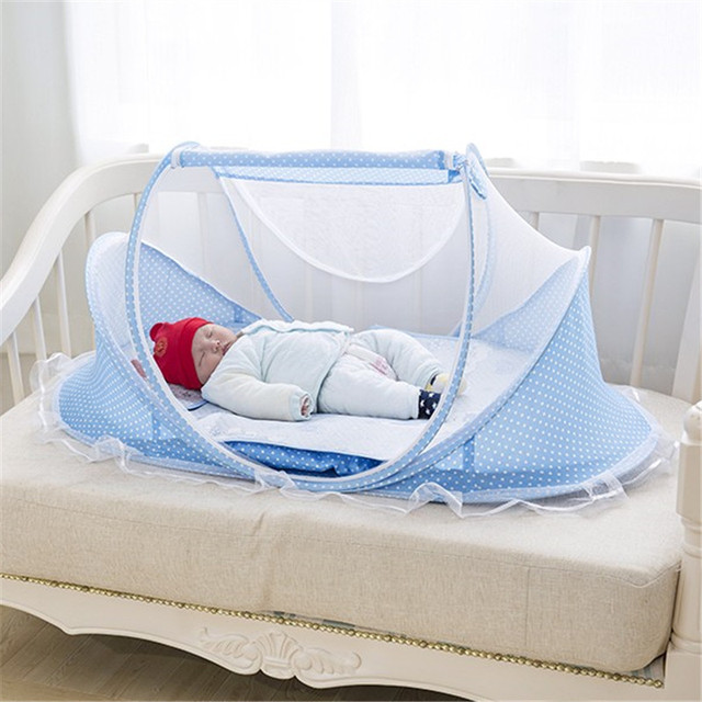 Baby Crib Free Installation Foldable Baby Mosquito Net