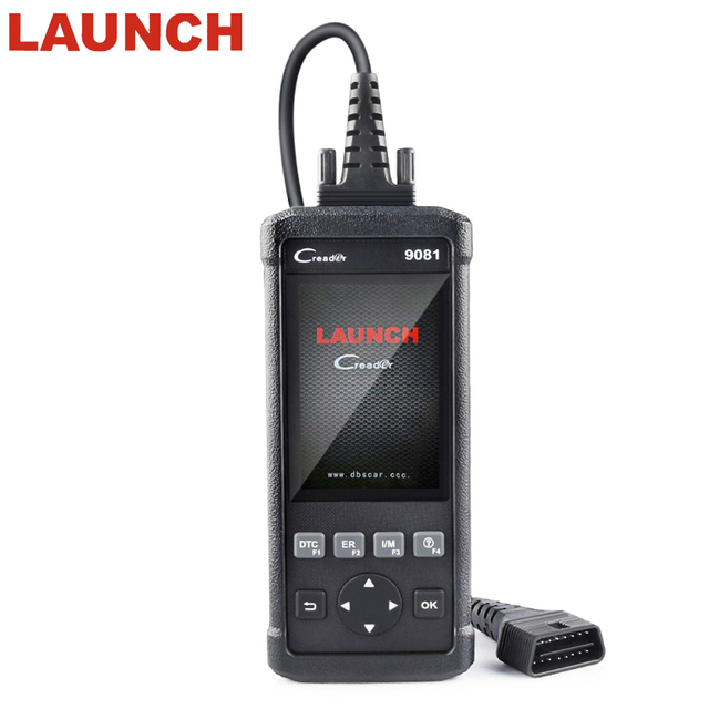 Special Offers LAUNCH CReader 9081 Full OBD2 Scanner/Scan Tool Diagnostic OBD2+ABS Bleeding+Oil+EPB+BMS+SAS+DPF LAUNCH CR 9081 autoscanner Tool