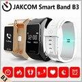 Jakcom b3 banda inteligente nuevo producto de pulseras como smartband brazalete de presión arterial bluetooth impermeable reloj de la aptitud