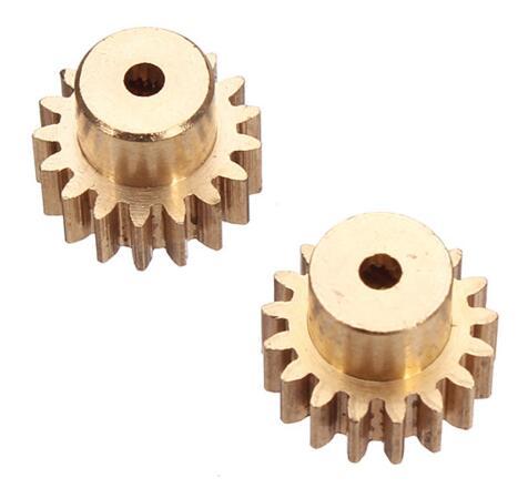 A ESTRENAR 2 piezas 17 t Motor Gear para Wltoys A949 A959 A969 A979 390 Rc Coche