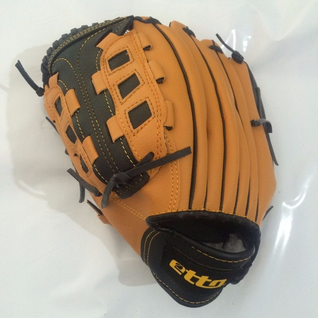 Etto New Top Quality Men Professional Baseball Glove Right Hand Male Beisbol Training Glove Kids For Match Softball HOB002Y 4