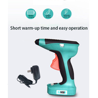 3.6V hot melt glue gun with 7MM glue stick thermal mini glue gun repair pneumatic DIY heat tool wireless lithium battery
