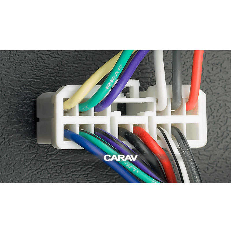 CARAV 12-121 ISO Radio Adapter for SUBARU for RENAULT Traffic (select  models) Wiring Harness Connector Lead Loom Cable Plug