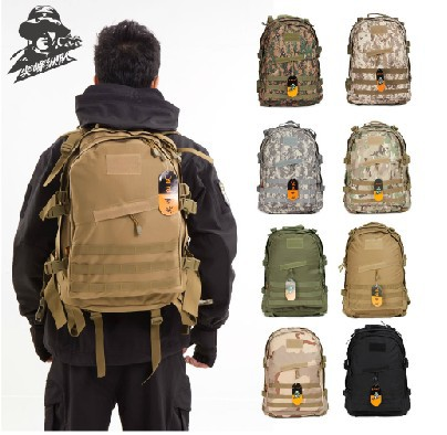 c1c832f881 3rd generations military army outdoor oxford backpack tactical 3d attack  packets backpack hiking ride waterproof PVC coating