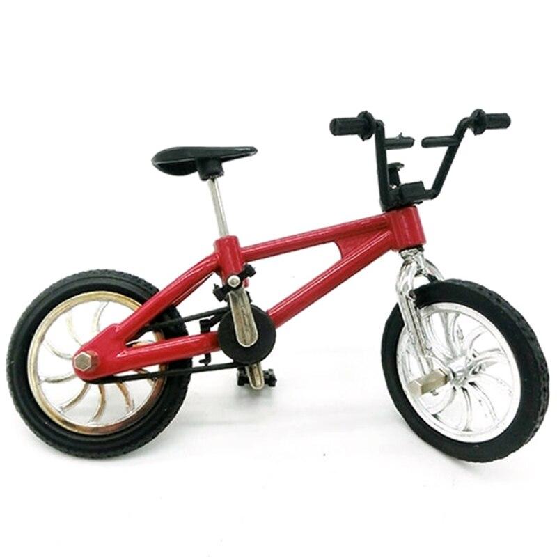 Mini Finger BMX Mountain Bikes Toys Kids Bike Game Gift Toys Metal Mini-finger-bmx Finger Cycle Creative For Finger