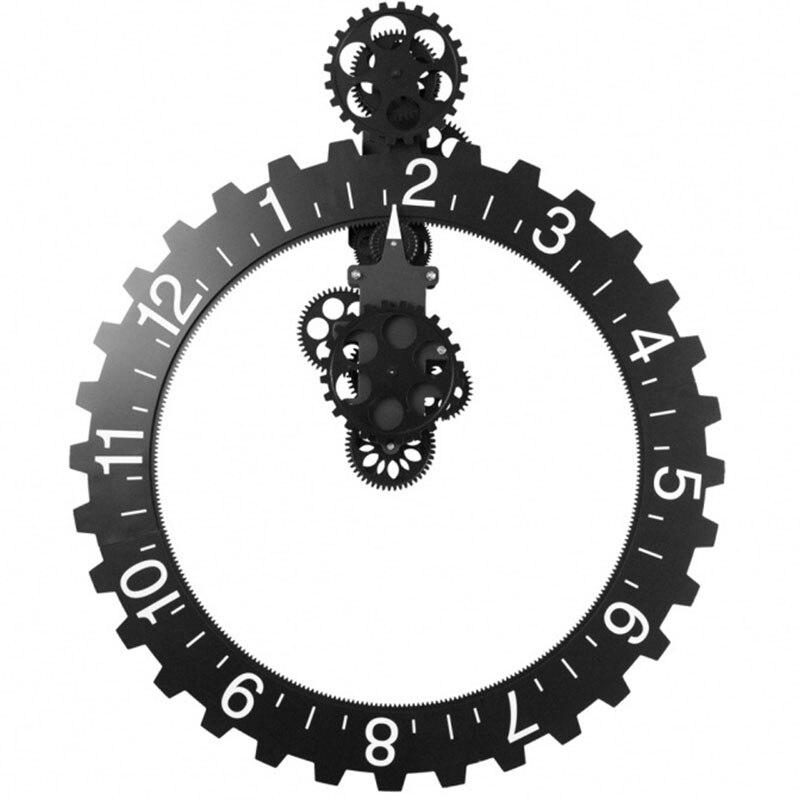Часы в европейском стиле часы домашний Творческий классические часы Уникальный удивительные часы DIY отличный настенные часы для дома для гостиной - 2
