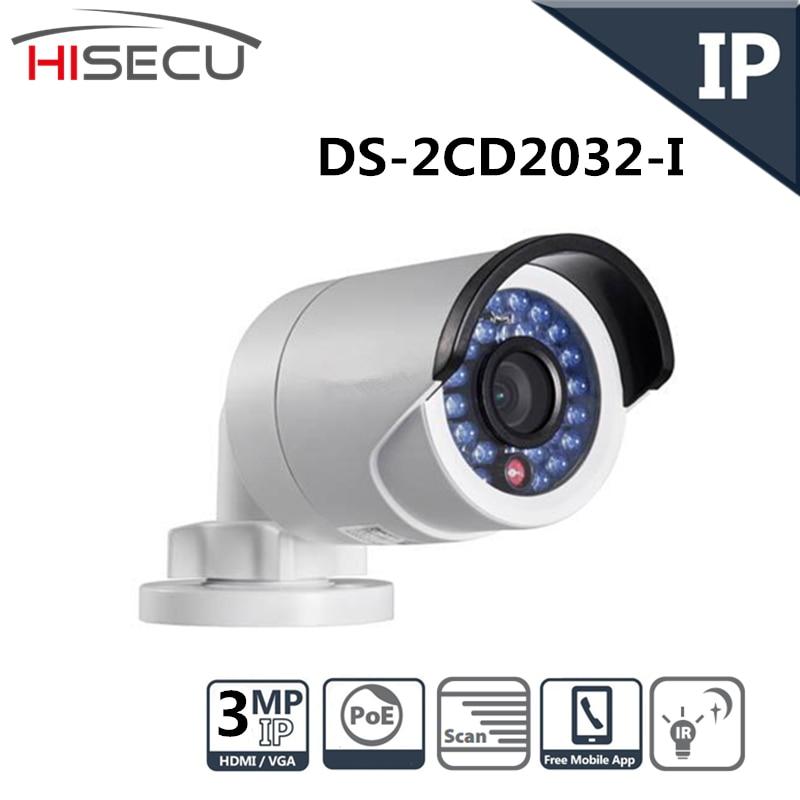Original English Version Infrared IP font b Camera b font 3 0MP Fixed Lens IP font