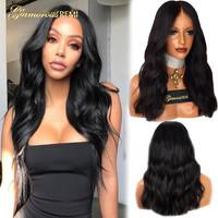 Glueless Malaysian Body wave Human Virgin Hair lace front wigs with baby hair Pre Plucked Hairline 8 26 inches Natural Color