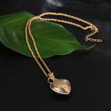 Best Austrian Crystal Heart Pendant Necklace Cheap
