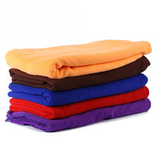 80*140cm Mutil-Functional Soft Towels Home Absorbent Microfiber Beach Bathing Mats Towel Travel Gem Quick Dry Towels Textile(China)