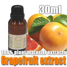 Free shopping 100% pure plant Grapetfruit extract 30ml oil whitening anti oxidation shrink pores