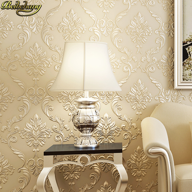 beibehang European relief wallpaper for walls 3 d luxury Wallcovering roll Damascus wall papers home decor living room bedroom beibehang wallpaper for walls 3 d elegant jane european style wallpapers living room bedroom book full house 3d wallpaper roll