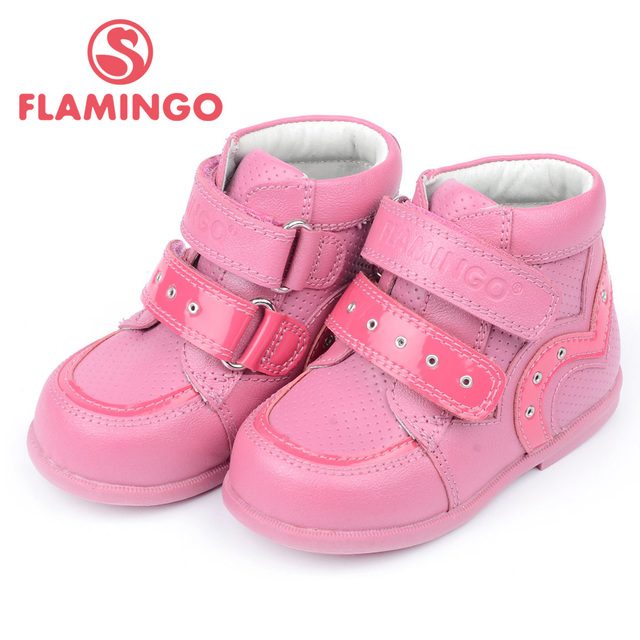 FLAMINGO 100% Russian Famous Brand 2015 New Arrival Spring & Autumn Kids Fashion High Quality shoes  QP5701