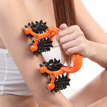 New health care beauty relax manual body massager device ski