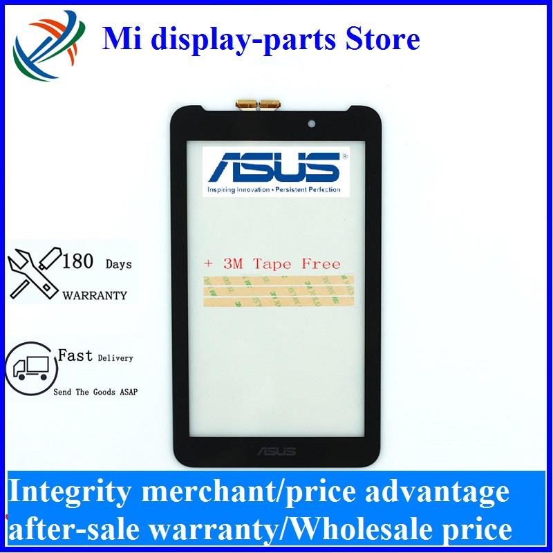 New For <font><b>ASUS</b></font> Fonepad FE7010CG FE170CG ME170 ME170C <font><b>K012</b></font> k017 Touch Screen Panel Digitizer Lens Sensor Repair Replacement Parts image