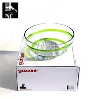 Italy Imported Guzzini Glass Bowl Of Fruit Compote Gifts In Modern Fashion Decoration Home Furnishing