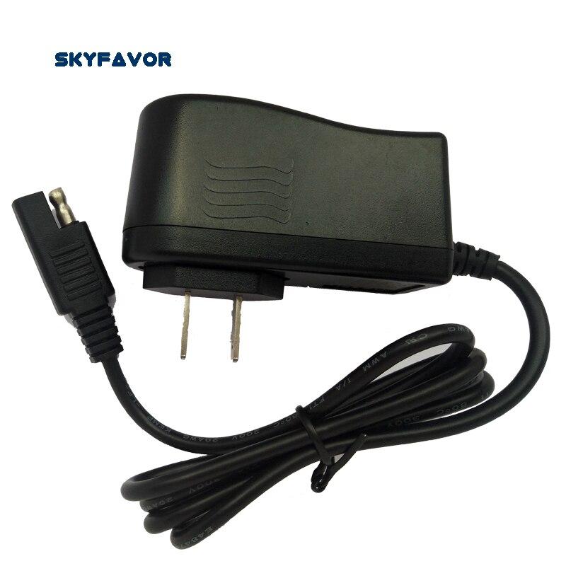 6V lead acid <font><b>battery</b></font> charger SAE CONNECTOR 7.2V 1A wall charger for 6v 6AH 7AH 8AH 10AH 12AH SLA AGM GEL laed-acid <font><b>battery</b></font>