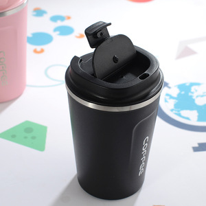 Image 2 - New Style Double Stainless steel 304 Coffee Mug Car Thermos Mug Leak_Proof Travel Thermo Cup Thermosmug For Gifts