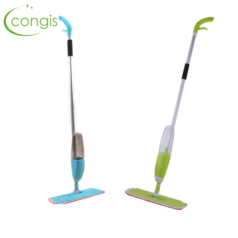 Congis 1Pc 2 Colors Multifunction Spray Water Spray Mop Hand Wash Plate Mop Home Wood Floor