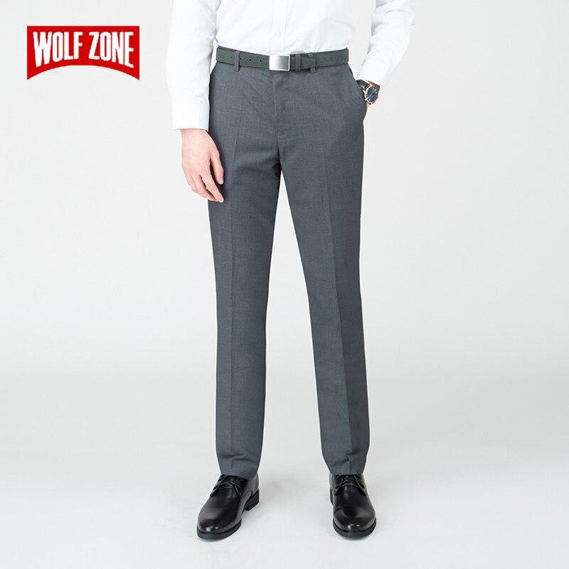 2019 Di Modo Nuovi Uomini Di Alta Qualità Pantaloni Dritti Primavera E L'estate Di Sesso Maschile Di Business Classico Casual Pieno Lunghezza Metà Di Pantaloni Elegante Nello Stile