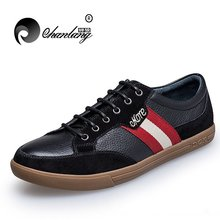 Cl-003 men's England and Korean stlysih low cut leather casual shoes driving shoes