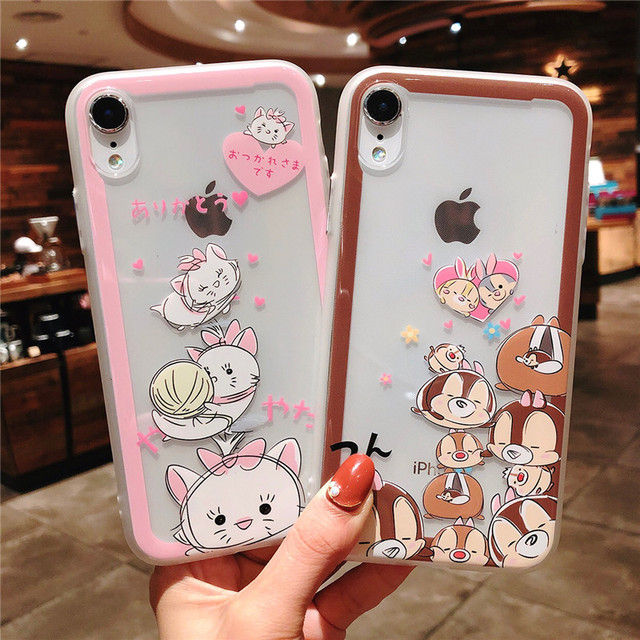 iphone xr case chip and dale