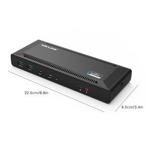 Image 4 - USB C محطة إرساء عالمية 5K USB C Gen1 المزدوج 4K عرض HD HDMI تسليم الطاقة USB 3.0 جيجابت إيثرنت العمل والدراسة على الانترنت