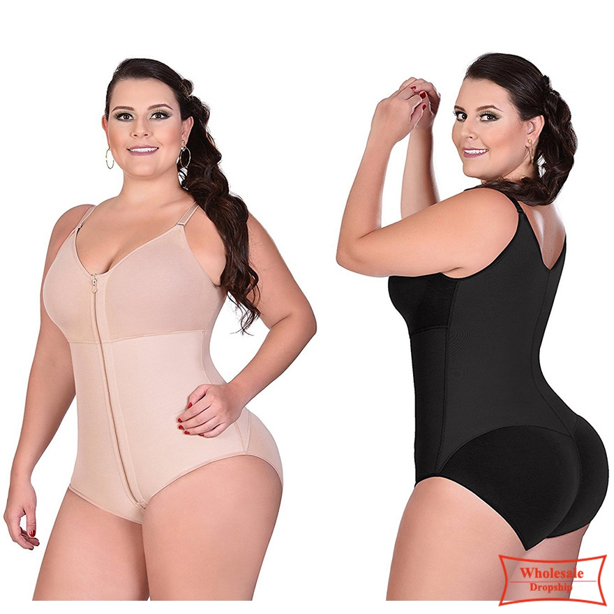 2019 Full Body Shapewear Waist Trainer women Sexy bodysuit Slimming Corsets control Lingerie bodyshaper butt lifter Underwear