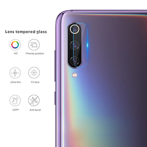 Image 3 - 2 in 1 Screen Protector Glass For Xiaomi Mi9 SE Mi 9 9se Camera Tempered Glass On For Xiaomi Mi9 se Back Lens Protective Film 9H