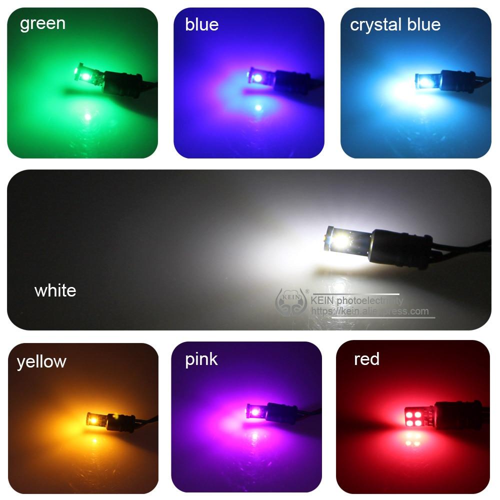 KEIN 2 개 T10 LED 전구 w5w 194 Canbus 3030 순수한 흰색 - 자동차 조명 - 사진 5